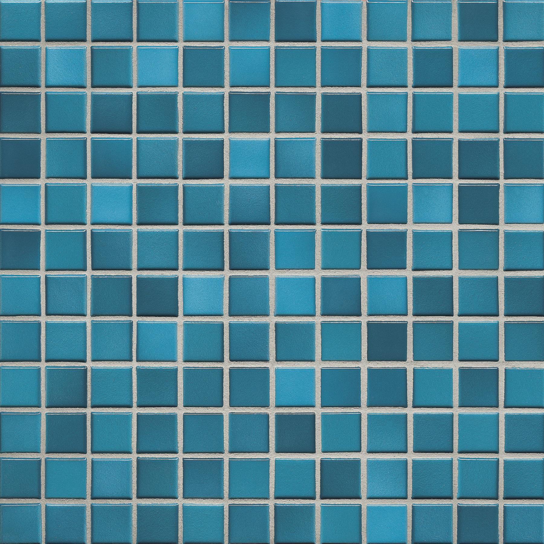Jasba FRESH pacific blue mix glossy 24x24x6,5 mm 41208H