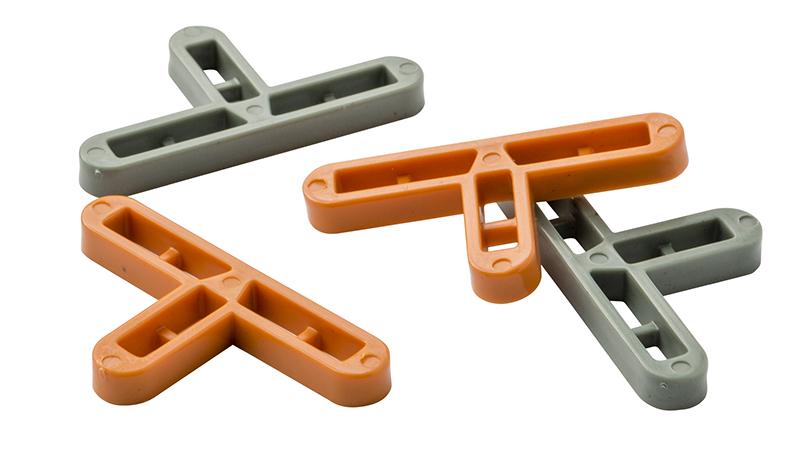 Крестики для клинкерной плитки Т-образные 10 мм (1000 шт.) Италия