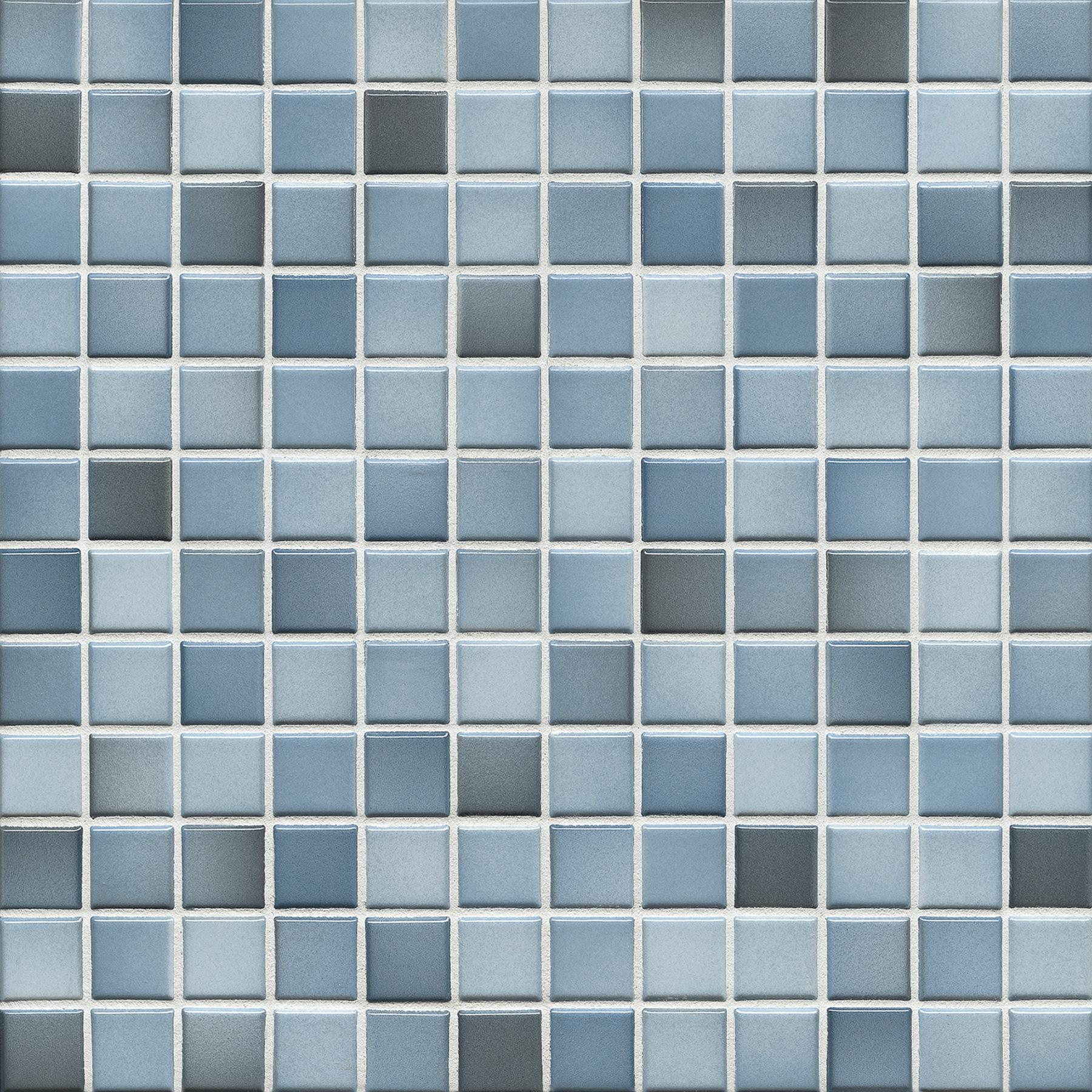 Jasba FRESH denim blue mix glossy 24x24x6,5 mm 41206H