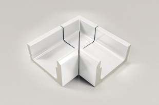 Внутренний уголок, 4-секционный Stil 414/119x295x138/194 мм