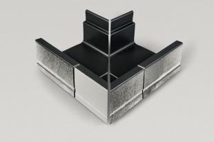Внешний уголок, 4-секционный Stil 414/119x295x138/194 мм