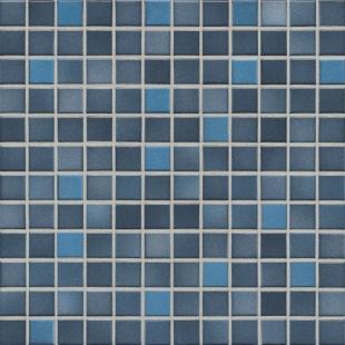 Jasba FRESH midnight blue mix glossy 24x24x6,5 mm 41209H