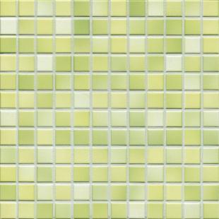 Jasba FRESH lime green mix glossy 24x24x6,5 mm 41214H