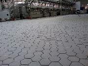 Кислотостойкая плитка шестигранник