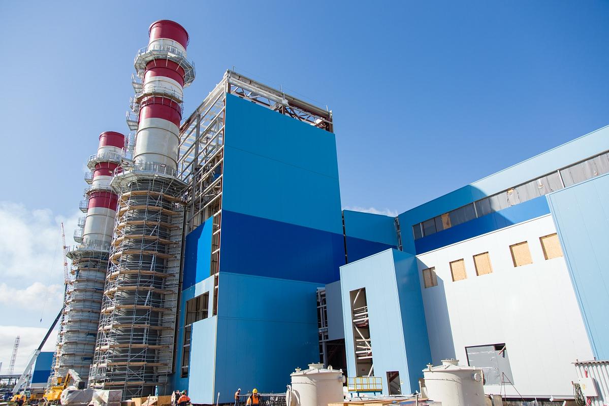 Поставка керамической плитки на объект: новой энергостанции ПГУ-ТЭС для ПАО «Нижнекамскнефтехим»