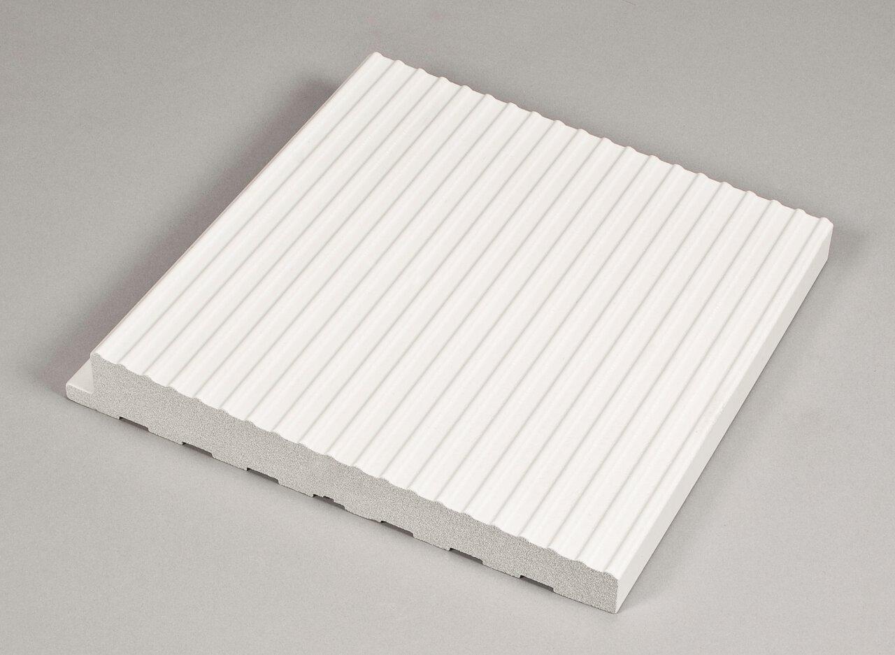 Наклонная рифленая плитка 244x244x23/35 мм