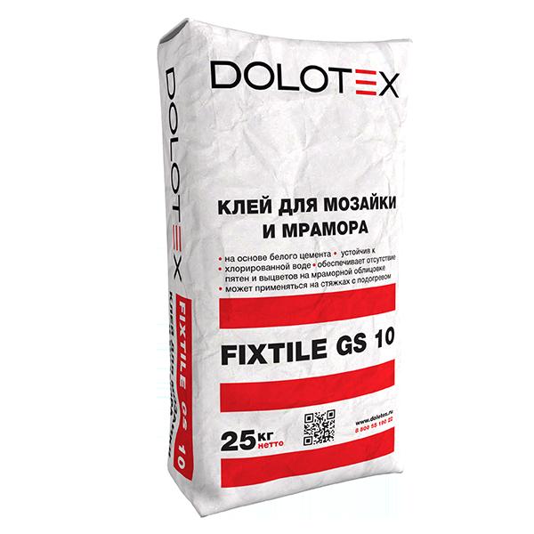 Клей для мраморной плитки Dolotex FIXTILE GS 10 25 кг.