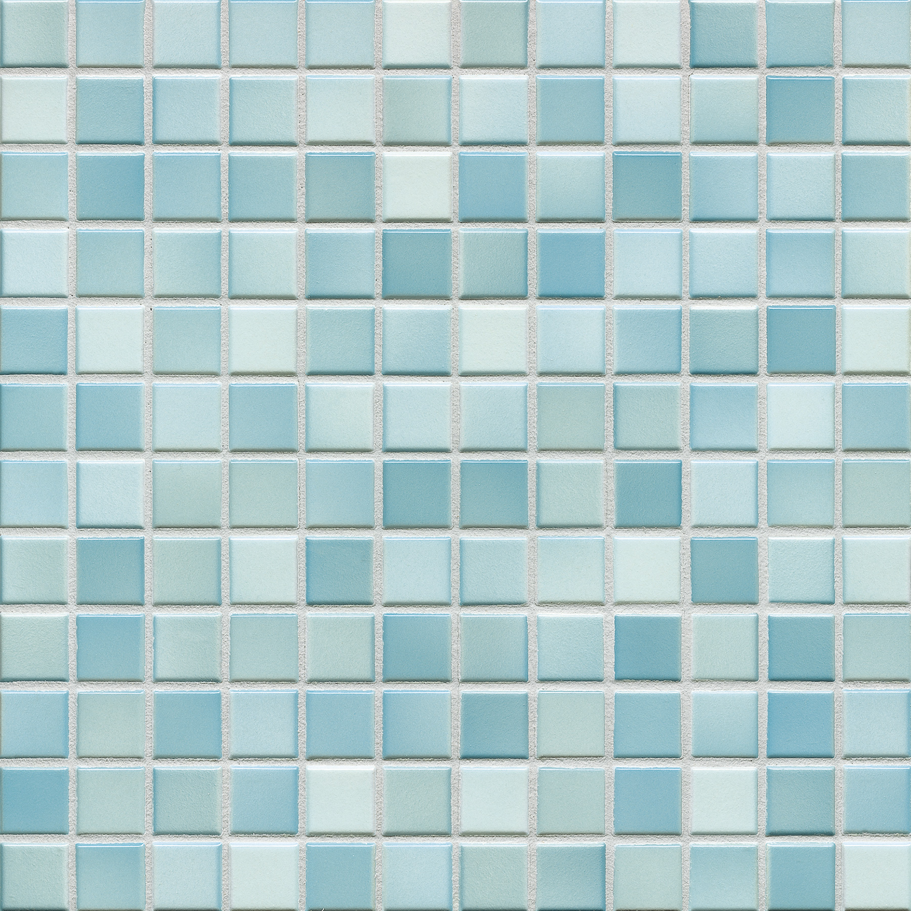 Jasba FRESH light blue mix glossy 24x24x6,5 mm 41207H