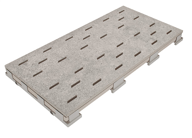 Решетка для бассейна 669 mittelgrau 25x50 cm