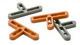 Крестики для клинкерной плитки Т-образные 10 мм (200 шт.) Италия
