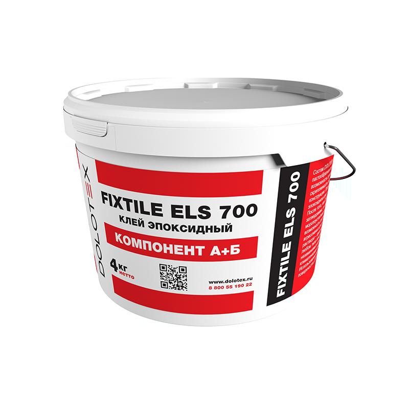 Клей эпоксидный готовый Dolotex FIXTILE ELS 700 4 кг.