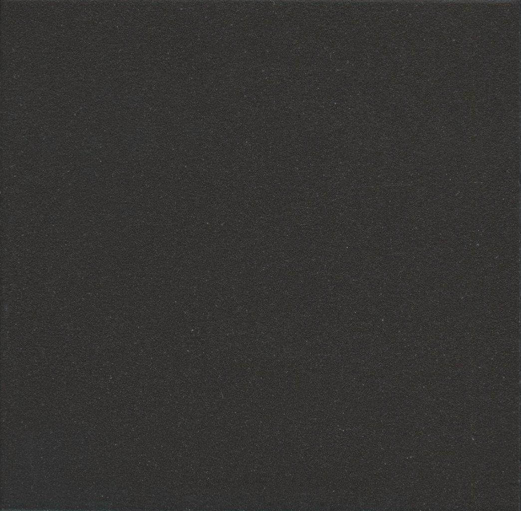 Zahna Fliesen quadrat 02 schwarz uni 150x150x11 мм.