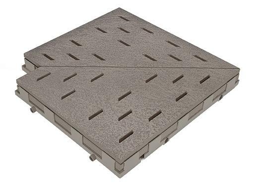 Решетка для бассейна угол basalt 30x30 cm