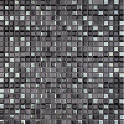 Jasba NATURAL GLAMOUR anthracite silver-mix 12x12x6.5 mm