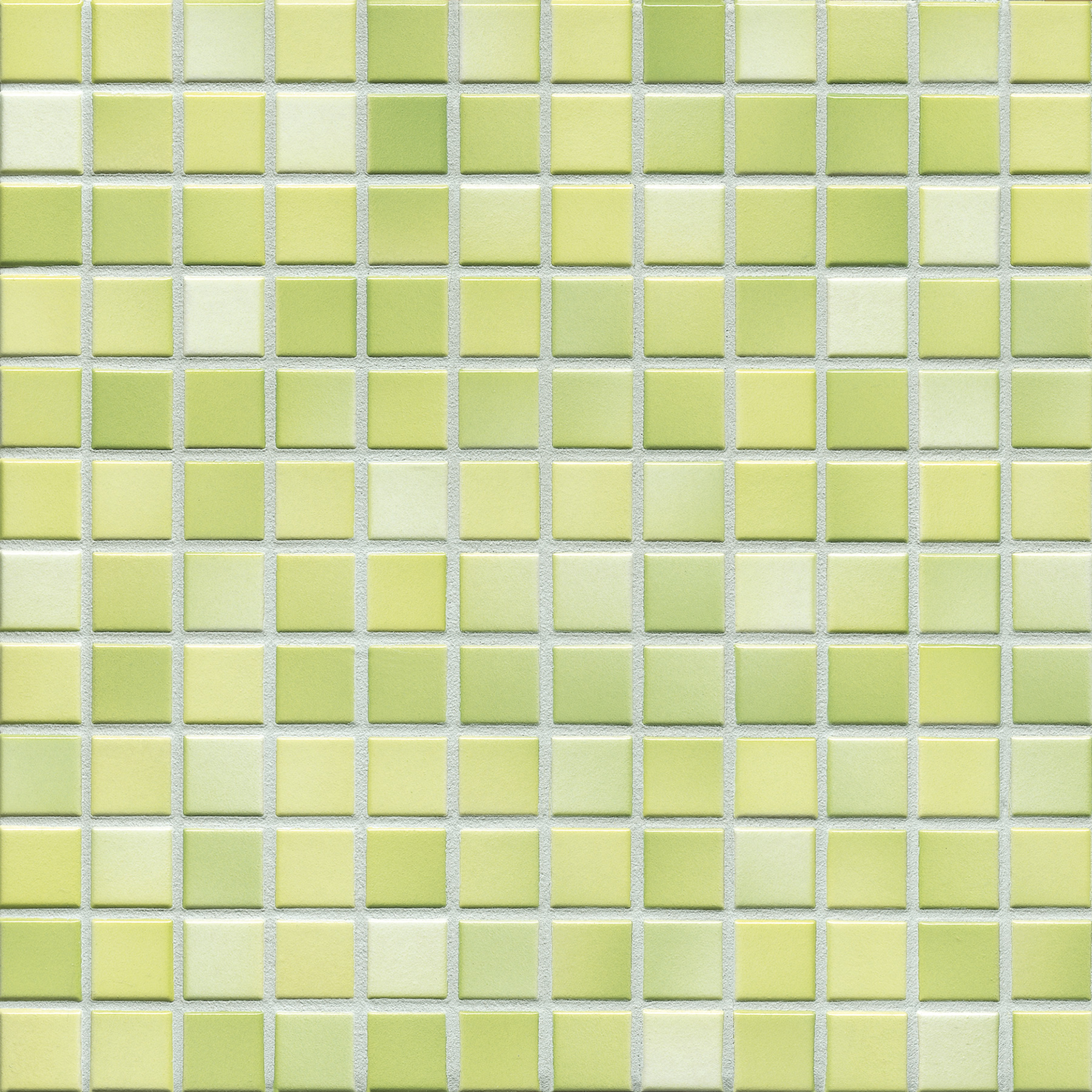 Jasba FRESH lime green mix glossy 24x24x6,5 mm 41214H