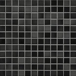 Jasba FRESH midnight black-mix glossy 24x24x6,5 mm 41205H