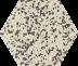 Zahna Fliesen Grauporphyr 21 Hexagon 100/115x18 мм