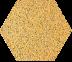 Zahna fliesen Sahara 86 Hexagon 100/115x18 мм