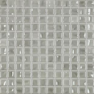 Jasba Amano light gray glossy 24x24x6.5 mm