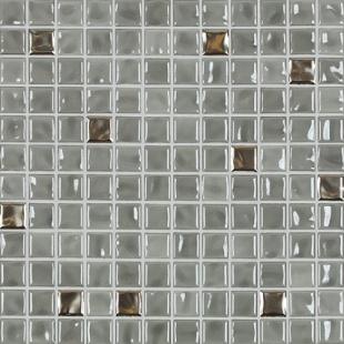 Jasba Amano medium gray metallic-mix 24x24x6.5 mm