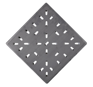 Стальная анкерная плитка 300x300x25 Type S3 AISI 304