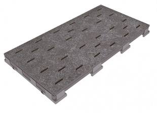 Решетка для бассейна 667 anthrazit 25x50 cm