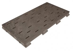 Решетка для бассейна graubraun 25x50 cm