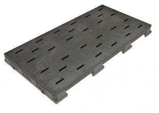 Решетка для бассейна schiefer 25x50 cm