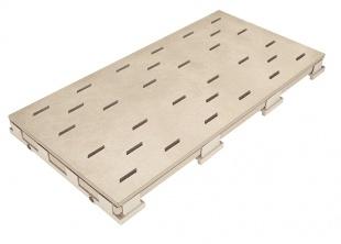 Решетка для бассейна sandbeige 25x50 cm