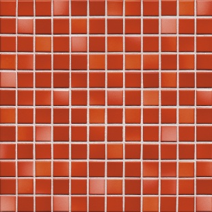 Jasba FRESH coral red mix glossy 24x24x6,5 mm 41212H